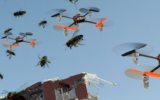 Swarm Exploration with Pocketdrones